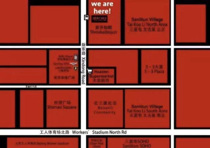 Bricks-map